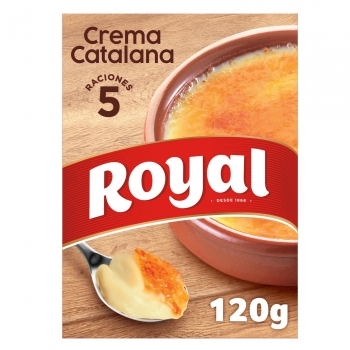 Preparado para crema catalana Royal 120 g.