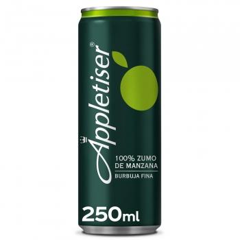 Appletiser 100% zumo de manzana con burbujas finas lata 25 cl.