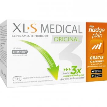 Complemento alimenticio para el control de peso XLS Medical 180 ud.
