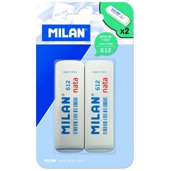 Pack 2 Gomas de Borrar Nata 612 Milan