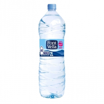 Agua mineral Font Vella natural 2 l..