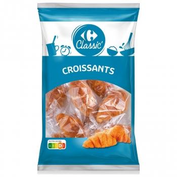 Croissants clásicos Classic' Carrefour 350 g.