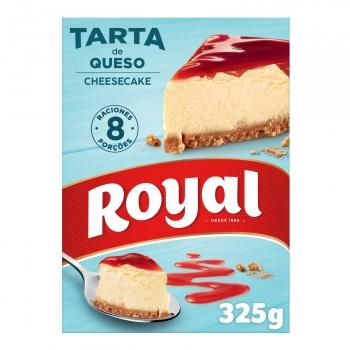 Preparado para hacer tarta de queso en polvo Royal 325 g.