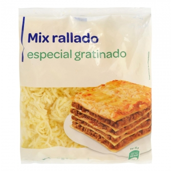 Mix rallado especial gratinado 200 g.