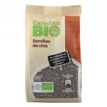 Semillas de chía ecológicas Carrefour Bio 250 g.