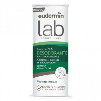 Desodorante talco para pies Eudermin 150 ml.