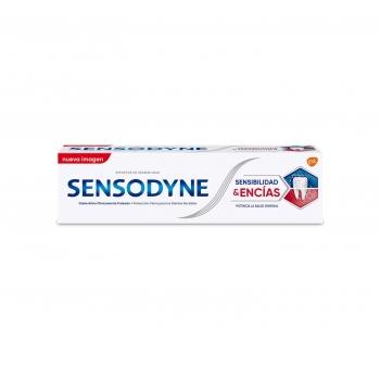 Dentífrico para dientes sensibles Sensibilidad & Encías Sensodyne 75 ml.