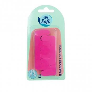 Separadores de dedos Carrefour Soft 2 ud.