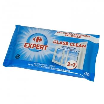 Toallitas Limpiacristales Carrefour 20 ud.