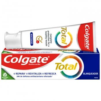 Dentífrico blanqueador 24h de protección completa Colgate Total 75 ml.