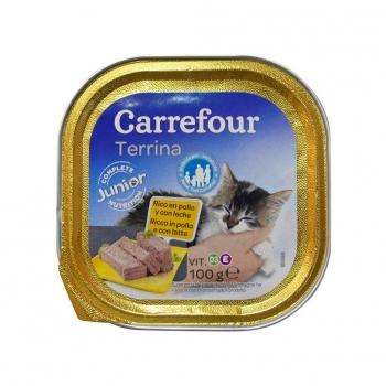 Alimento Húmedo para Gatos Pollo 100 gr, Carrefour