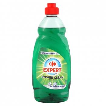 Lavavajillas a mano power clean Carrefour Expert 500 ml.
