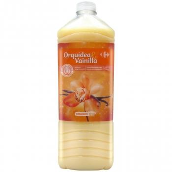Suavizante concentrado orquídea y vainilla Carrefour 80 lavados.