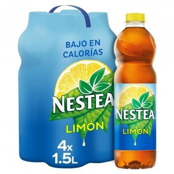 Nestea té negro de limón bajo en calorías pack 4 botellas 1,5 l.