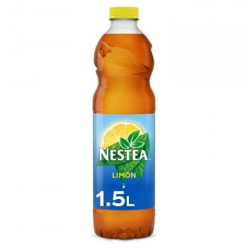 Nestea té negro de limón bajo en calorías botella 1,5 l.