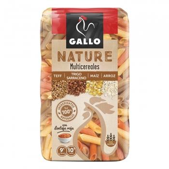 Macarrones de cereales Gallo sin gluten 400 g.