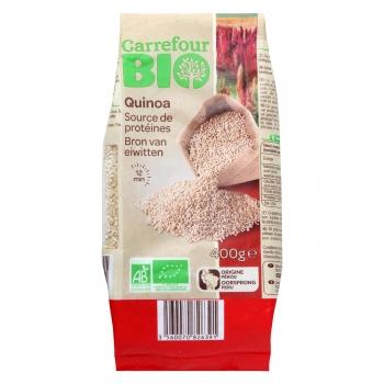 Quinoa blanca ecológica Carrefour Bio 400 g.