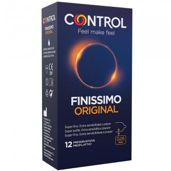 Preservativos finissimo original Control 12 ud.