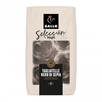 Pasta tagliatelle al nero di sepia Gallo 250 g.