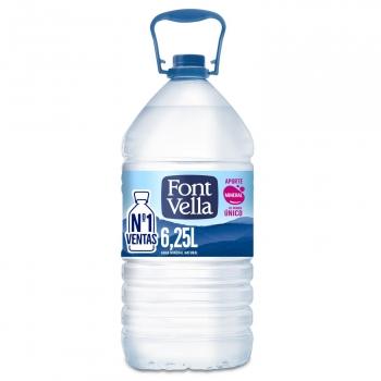 Agua mineral Font Vella 6,25 l.