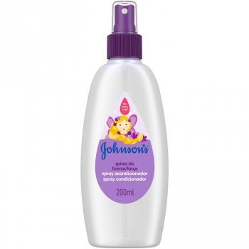 Acondicionador spray Gotas de fuerza Johnson's 200 ml.