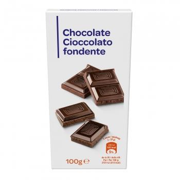 Chocolate puro para fundir 100 g.