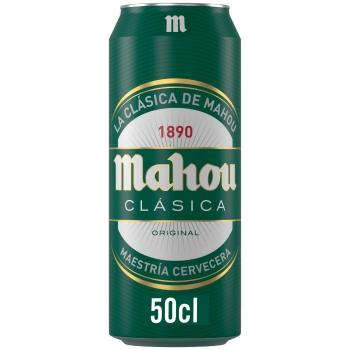 Cerveza Mahou Clásica lata 50 cl.
