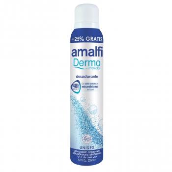 Desodorante en spray dermo protector Amalfi 200 ml.