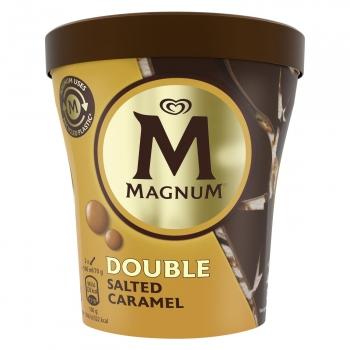 Helado de caramelo con sal Double Magnum 440 ml.