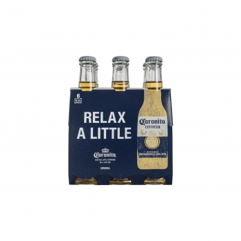 Cerveza Coronita pack de 6 botellas de 21 cl.