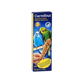 Carrefour Barritas para Periquitos con Frutas 2x30g