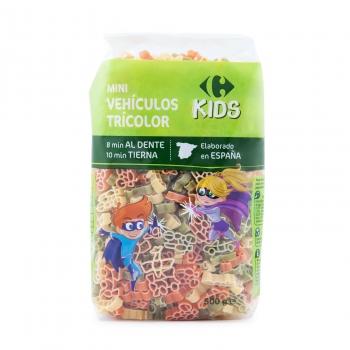 Pasta infantil vegetal Carrefour Kids 500 g.