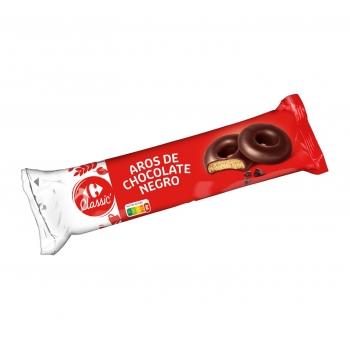 Aros de chocolate Carrefour 150 g.