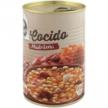 Cocido madrileño Carrefour sin gluten 440 g.