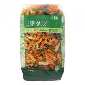 Espirales vegetales Carrefour 500 g.