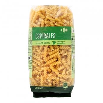 Espirales Carrefour 500 g.