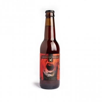 Cerveza artesana Rabiosa APA botella 33 cl.