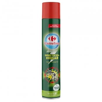 Insecticida moscas y mosquitos Carrefour 750 ml.