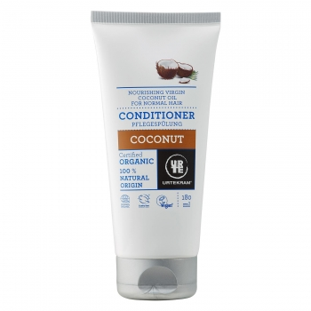 Acondicionador de coco para cabello normal ecológico Urtekram 180 ml.