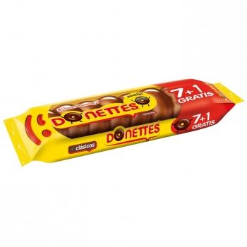 Bollito recubierto de chocolate Donettes 7 ud.