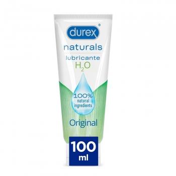 Gel lubricante naturals H2O original Durex 100 ml.