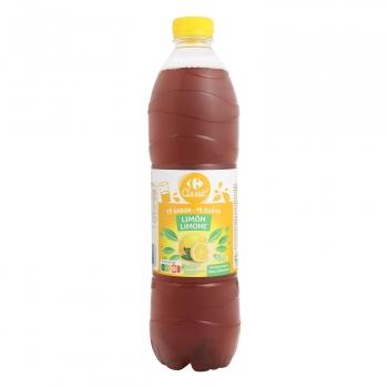 Carrefour té de limón botella 1,5 l.