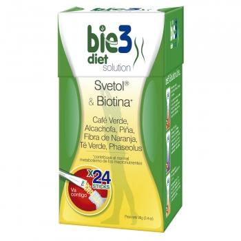 Solución para dieta Svetol & Biotina sin gluten 24 ud.