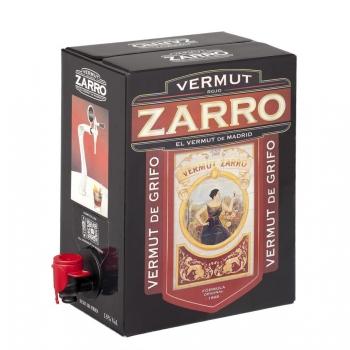 Vermut Zarro rojo de grifo 3 l.