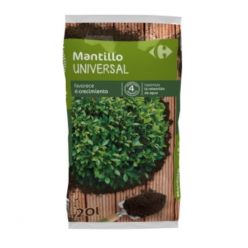 Mantillo Universal  20 L Carrefour