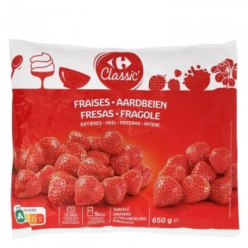 Fresas Carrefour Classic 650 g.
