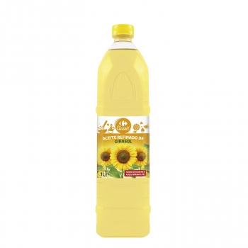 Aceite de girasol Carrefour 1 l.