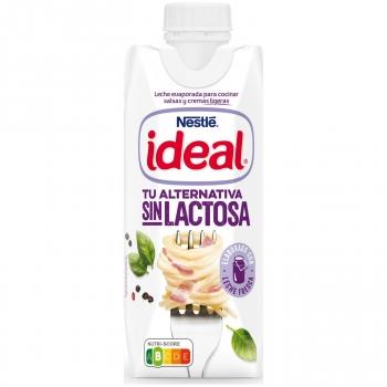 Leche evaporada Nestlé Ideal sin lactosa 525 g.