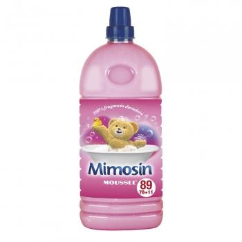 Suavizante concentrado moussel Mimosin 78 lavados.