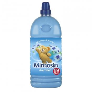 Suavizante concentrado azul vital Mimosín 78 lavados.